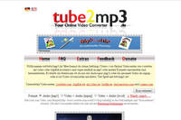 Screenshot: Tube2MP3