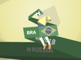 Wallpaper WM 2018 BRA Brasilien
