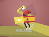 Wallpaper WM 2018 ESP Spanien
