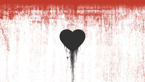 Wallpaper Bleeding Heart