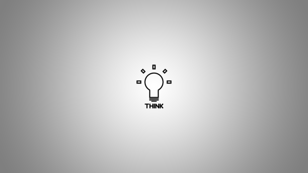 Wallpaper Think