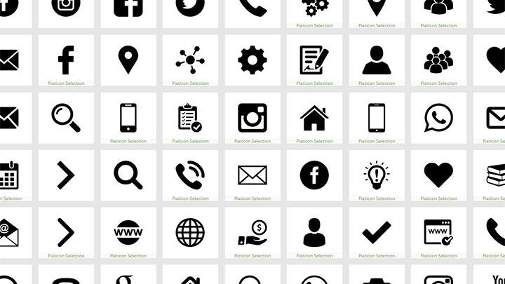 Web Design Icons Css